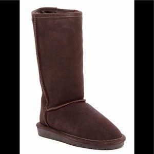 NWT Bearpaw Emma Tall Sheepskin Lined Boots